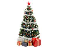 丙纶纤维、PP纱应用于圣诞树