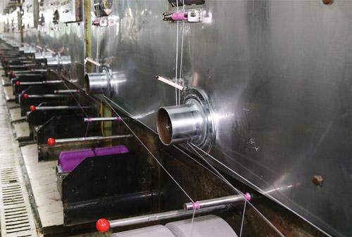 飞尔博丙纶纤维生产实景