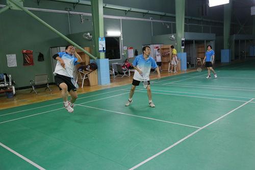飞尔博年度羽毛球赛