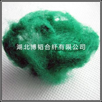丙纶短纤-绿色