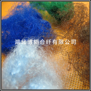 毡用丙纶短纤-彩色