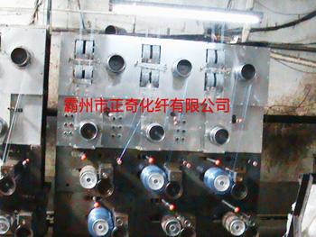 二手二步纺丙纶普强生产设备