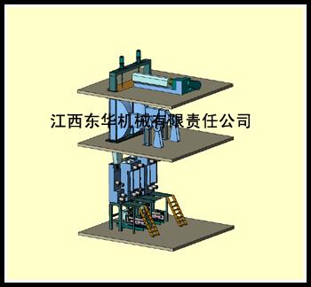 DHP419高强丙纶粗旦纺丝机
