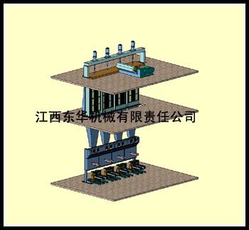 中强丙纶粗旦纺丝牵伸机设备