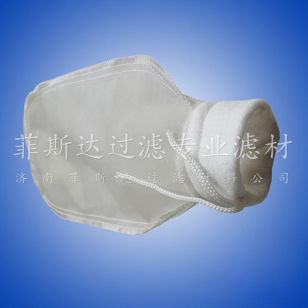 水袋式尼龙NMO过滤袋 特种网眼滤网袋