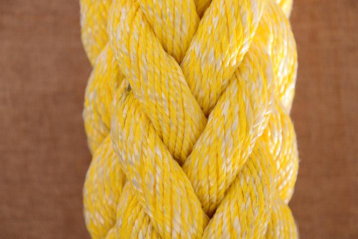 聚酯与聚烯烃混合八股缆绳