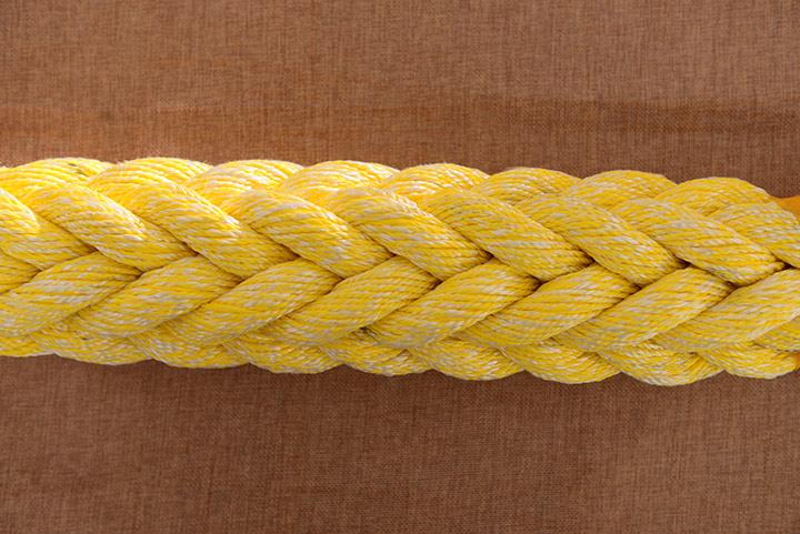 聚酯与聚烯烃混合十二股缆绳