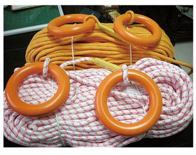 水面漂浮救生绳