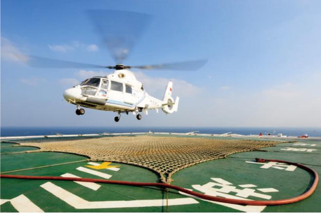 直升机平台防...