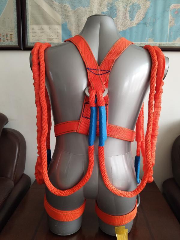 丙纶安全带-五点双小钩3米,材质:丙纶高强¥48