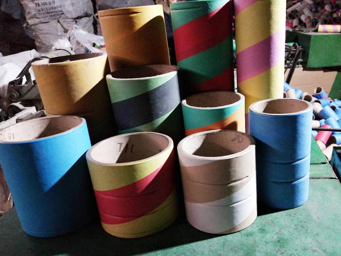 不同规格的化纤纸管