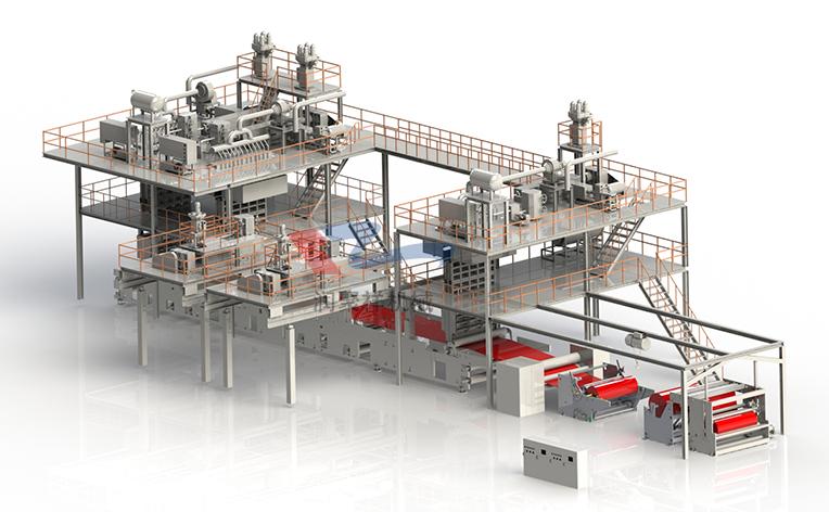 SSMMS纺熔非织造布生产线(厂家推荐)