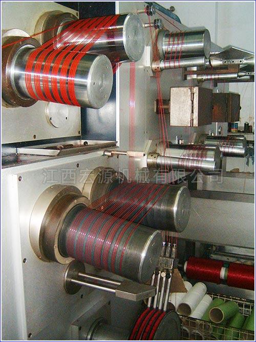 丙纶BCF膨体变形纱纺牵联合机