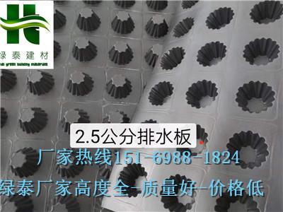 \烟台车库绿化排水板潍坊2公分车库排水板