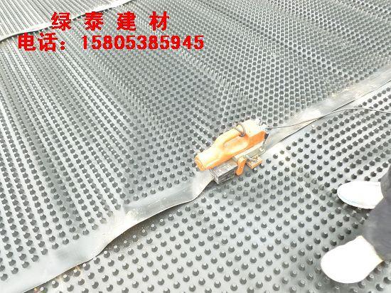 建筑工程°地下室顶板凸点排水板供应到南通