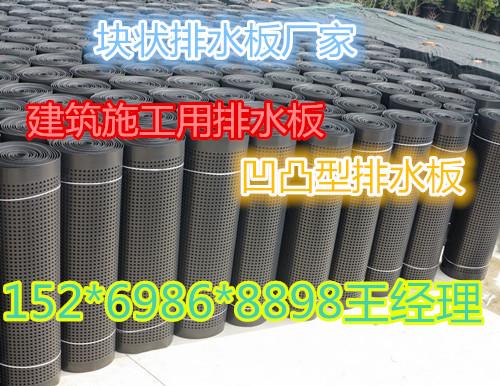 凹凸型塑料排水板_蓄排水板_排水板批发价格