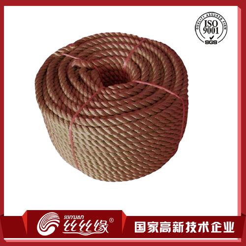 三股高强丙纶绳缆