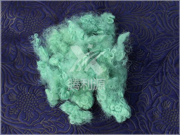 绿色丙纶短纤