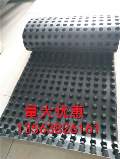 揭阳车库顶板凹凸塑料滤水板清远20排水板
