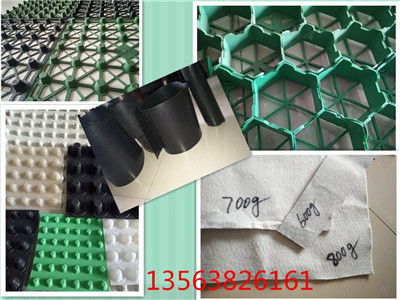 嘉兴20蜂窝形塑料保水排水格片无锡蓄排水板