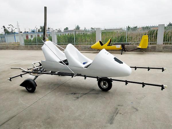 旋翼机喷药系统
