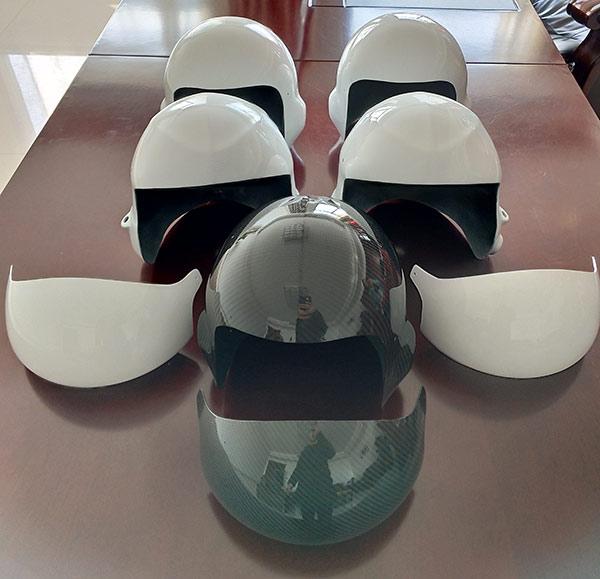 碳纤维头盔
