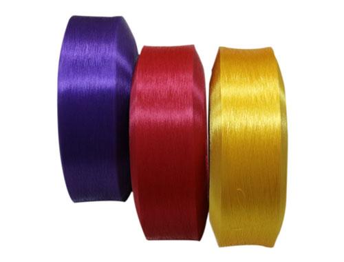 各种颜色的丙纶空变丝