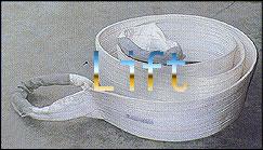 出口钢管专用吊装带|钢管吊带|一次性吊带
