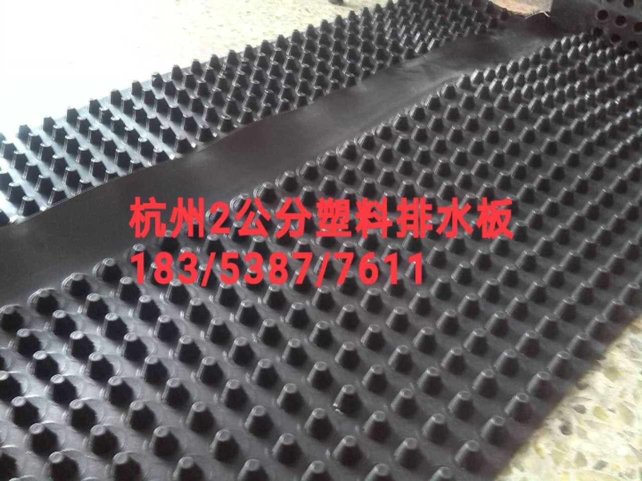 杭州建筑车库蓄排水板%2公分塑料排水板