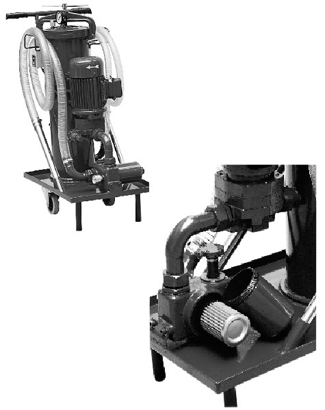 机油滤油机
