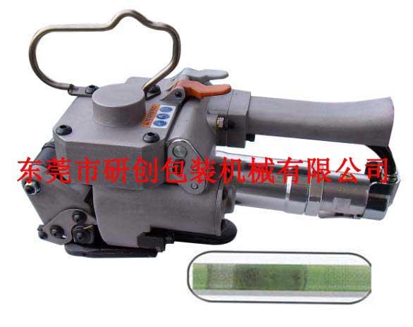 供应手提式气动打包机w惠州压盘式缠绕机