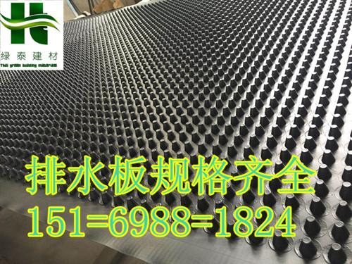 屋顶绿化车库排水板芜湖保定20高蓄排水板